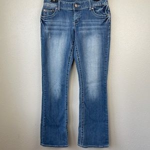 Maurices Women's Jeans Mid Rise Bootcut Jeans EUC